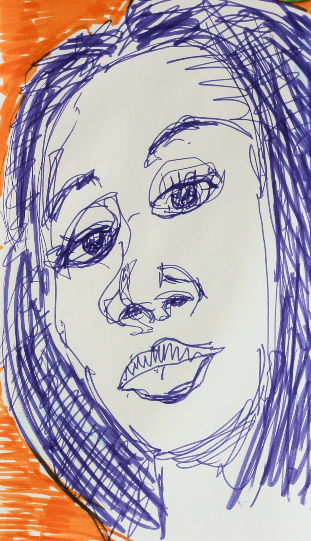 # 990 face sketch